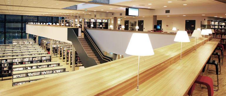 HSNbiblioteket campus Vestfold