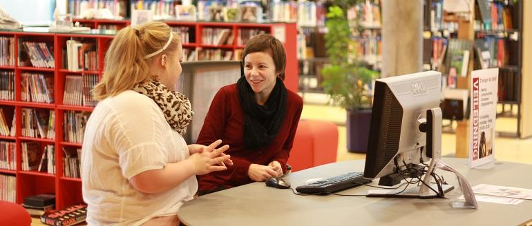 Bestill en bibliotekar
